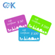 Low Cost Customized Plastic PVC Amazon Itunes Salon Gift Card