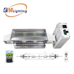 High quality low frequency 1000W CMH HPS Grow Light Digital Dimmable ballast System kit