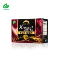 private label Power Coffee for Men Maca extract Ginseng extract prostaep instant Coffee herbal coffee for men