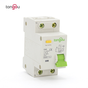 230V 400V 40A 1P+N 30 mA RCBO Breaker ELCB Residual Current Circuit Breaker with Overcurrent Protection TOB10-63