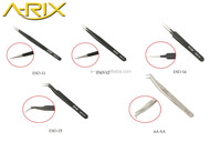 Customer Label Eyelash Planting Use Stainless Steel Eyelash Tweezer