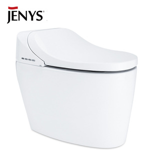 Plastic auto heating seat intelligent types of toilet bowl