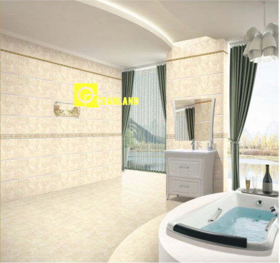 elegant wall decoration ceramic glazed tile picture