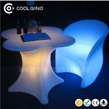 LED Bar Chairs and Tables LED Furniture IP65 Chair Tea Table And Chairs Set