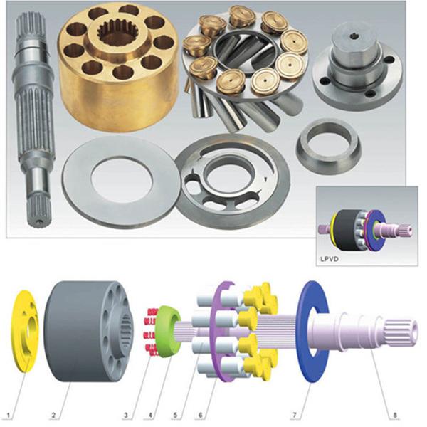 Low price for Liebherr FMV075/100/225 hydraulic pump parts & pump cartridge