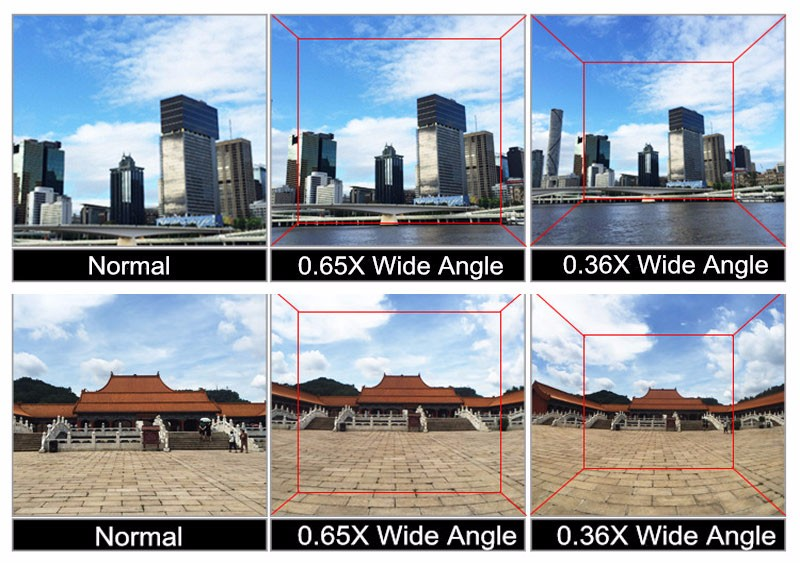 0 36x Super Wide Angle Lens Mobile Phone 3d Camera Lens