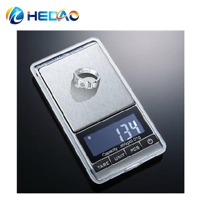 Electronic pocket mini 0.01g digital gold weighing scale