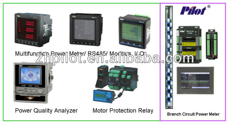 PMAC735 AC bacnet power quality analyzer with profibus