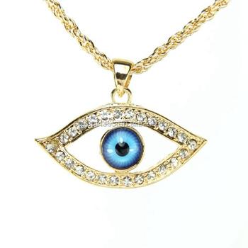 Evil eye necklace blue eye pendant necklace for women long chain evil eye necklace blue eye pendant necklace for women long chain necklace jewelry aloadofball Images