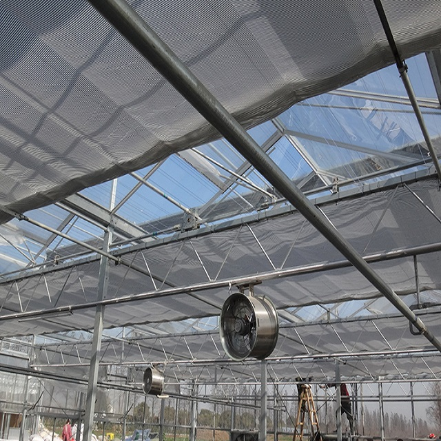 Aluminum Shade Cloth for Greenhouse Roof Covering