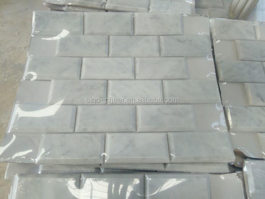 Bagni In Marmo Di Carrara : Pavimenti bagno piastrelle bianco carrara mattonelle di marmo