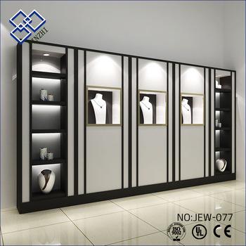 Neue Moderne Design Wand Glas Schmuck Schranke Schaufenster Buy