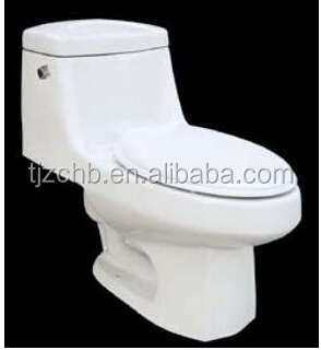 Nano ceramic sanitary wares water saving Jet siphonic one-piece & single toilet