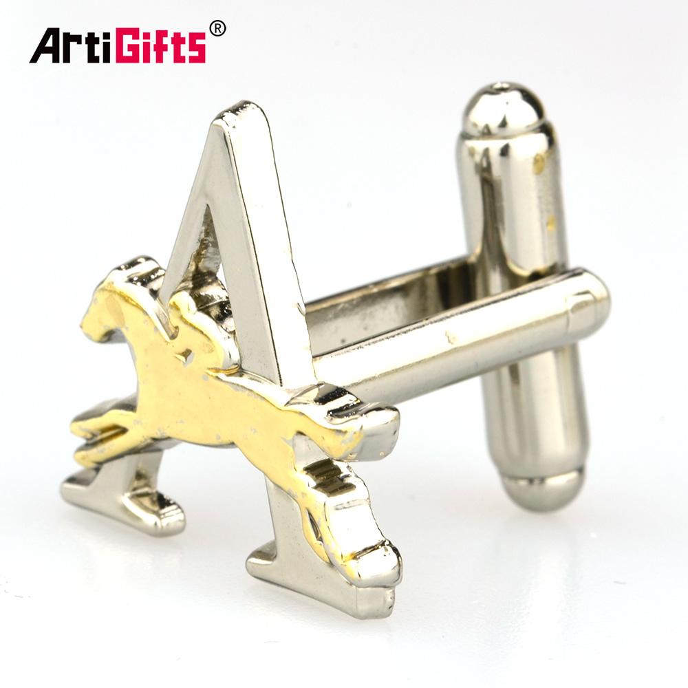 Goedkope Custom Mannen Manchetknopen Accessoires Metalen Fashion Jongens Manchetknopen