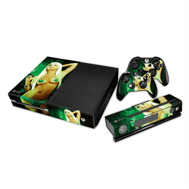 Hot Sexy Naked Girls Decal For Xbox One Console Skin - Buy For Xbox One Skin,For Xbox -7085