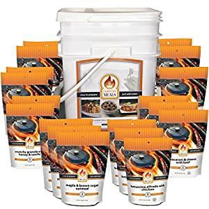 Campfire Meals Essentials Bucket