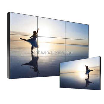 3x3 Samsung Panel 46 inch LCD Video Wall Ultra-thin Gap Advertising Display for sale