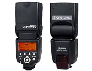 OnceAll YONGNUO YN-565EX TTL On-camera Flash Speedlite for Canon Cameras (Black)