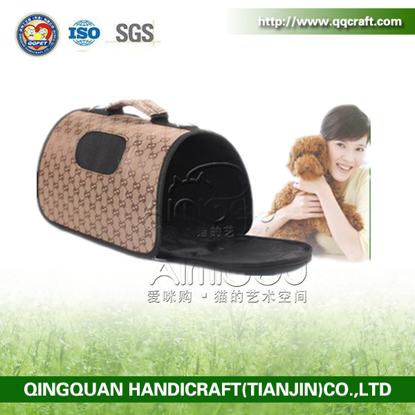 Wholesal Custom Soft-Sided Pet Travel Carrier Pet Products Cat Dog Pet Carrier