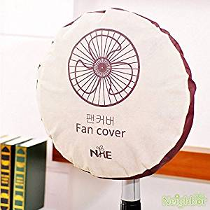 New Round Stand Fan Dust Cover Dustproof Anti Dust Electric Fan Protection Cover