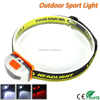 Wholesales Special Price Red Light Mini LED Camping Headlamp