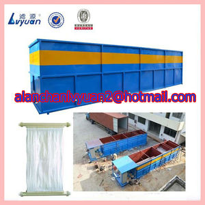 Buried structure and portable sewage treatment system/living machine water treatment and reuse