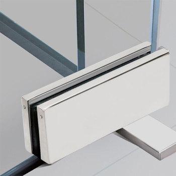Stainless Steel 304 Hidden Glass Door Closer Hinge Concealed