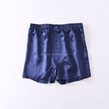 High quality mens silk boxer shorts/men satin boxer shorts