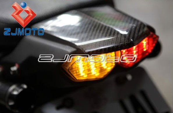 Motorcycle LED Taillight Tail Light With Turn Signals Taillight With Light Fairing Suitable For Yamaha BWS125 R6
