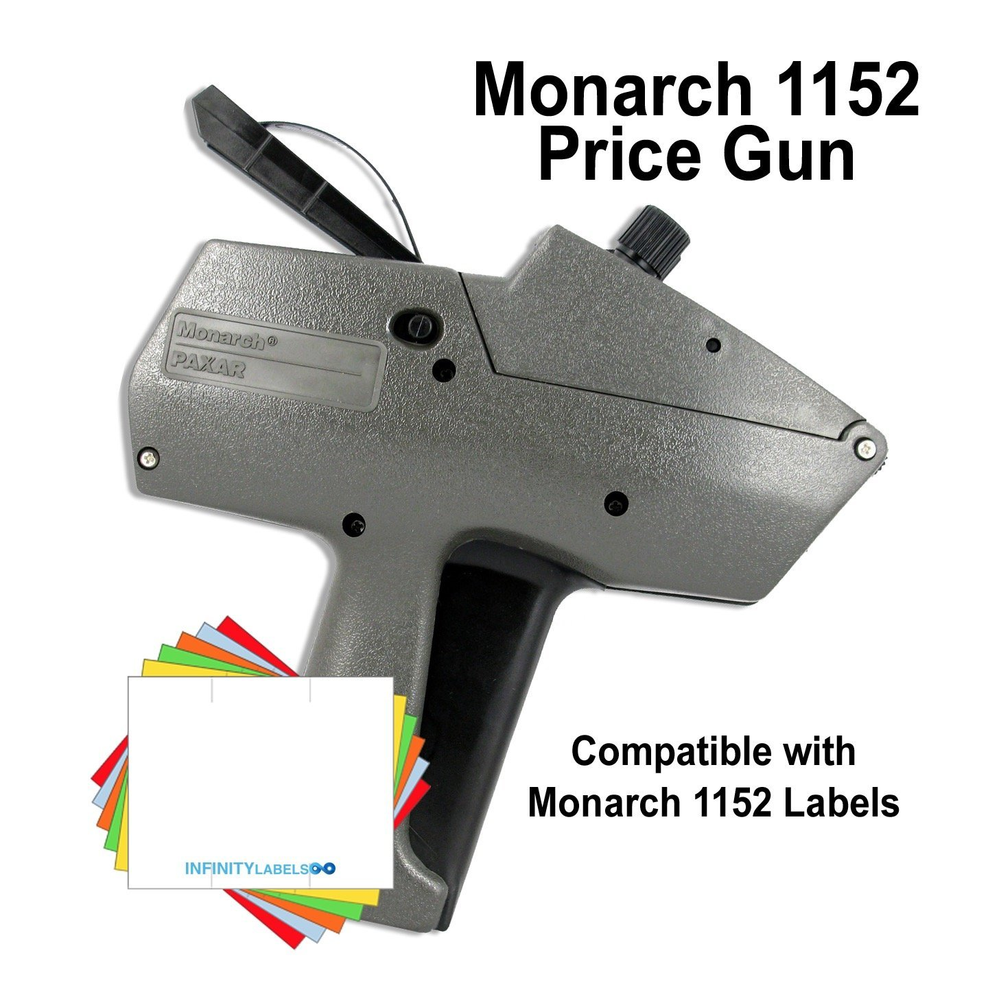 Monarch Price Guns (10): 1152 - BULK PRICING [2 Lines / 12 Top & 7 Bottom BOLD characters]