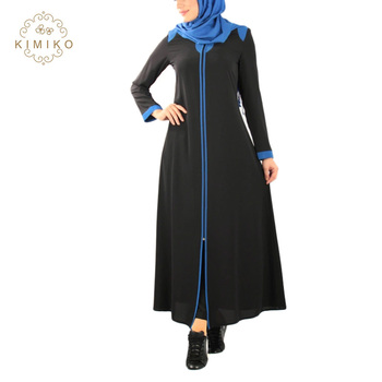 04e9ca23a1 2019 Ramadan New Arrival Islamic Clothing Wholesale Black Muslim Abaya -  Buy Modern Islamic Clothing Abaya,Islamic Women Clothing Kaftans Jilbab ...