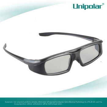 High Quality DLP-Link Active Shutter 3D Glasses for TV