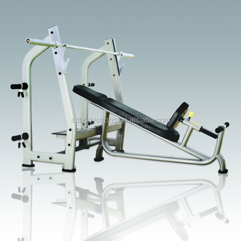 Multi Gym Bench/j-025 Luxury Incline Bench/ab Crunch Bench Fitness ...