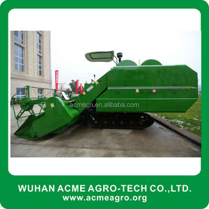 Newly good quality rice combine harvester for farm equipment
