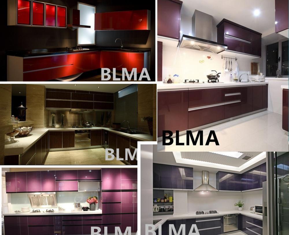 2017 cheap modern kitchen cabinet budget hotel kitchen for Cheap modern kitchen cabinets