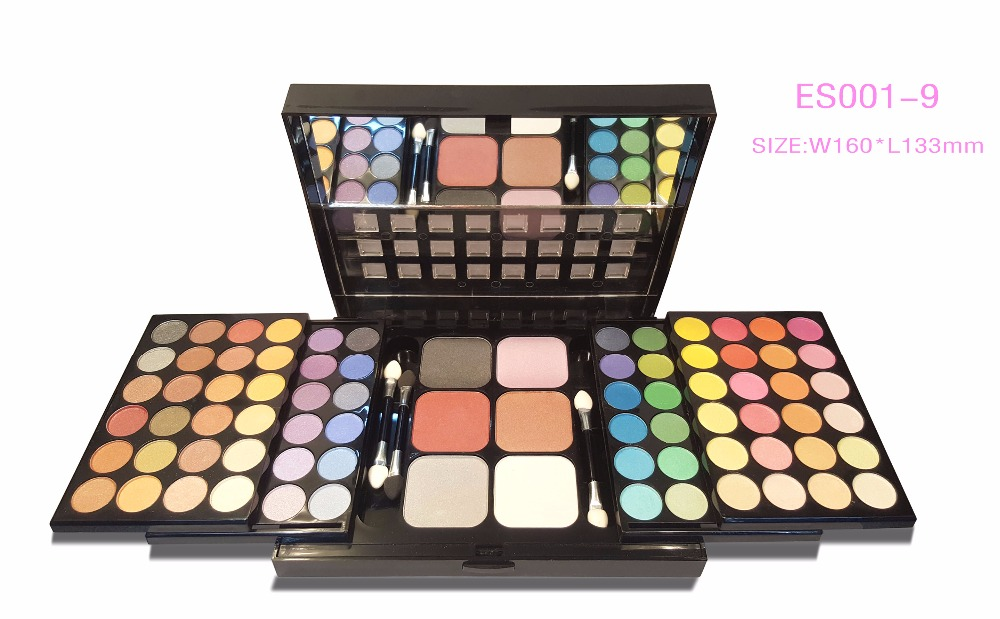 Hot selling makeup highlighter private label cosmetics multicolors eyeshadow palette
