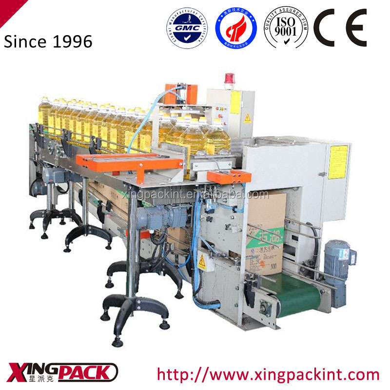 Automatic Drop-Type Case Packer Xingpack Carton Loader
