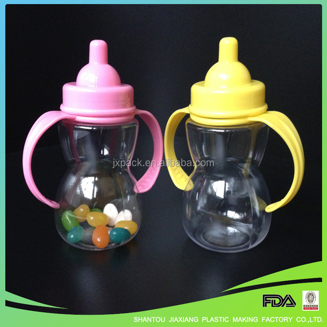 Mini Cute Gourd Shape Candy Bottle With Handle