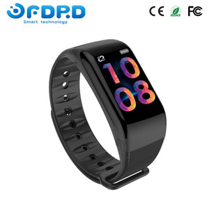 New blood pressure waterproof bluetooth ip67 activity fitness tracker pedometer
