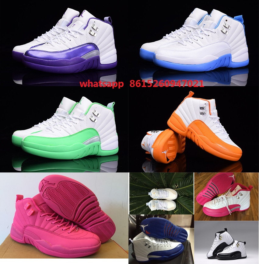 1fa71381c32f air jordan retro 12 kids green