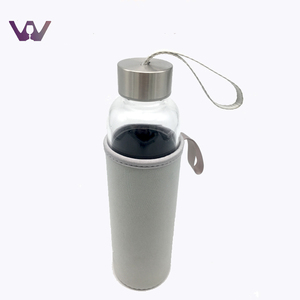 Best Selling Classic BPA Free Glass Sport Bottle Of Water with Custom Logo