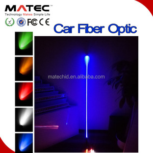Matec Antenna 4 feet 5ft 6ft led car light 5 colors RGB 12v led fiber optic light car