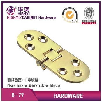 Drop Flap Invisible Table Piano Hinge For Round Door Hinge