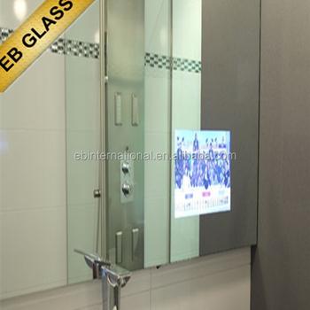 twoway polarized mirror tv bathroom mirror for hotel eb glass brand