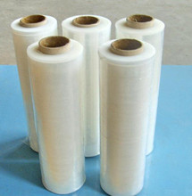 Clear PE stretch folie for pallet wrap