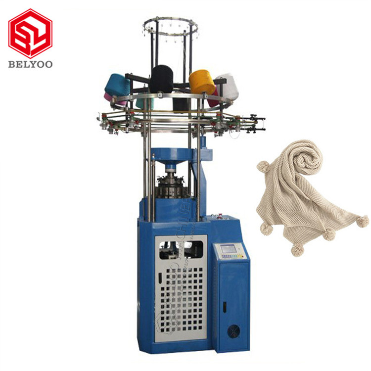 Working Long Time Winter Beanie Weft Knitting Machines Stainless Steel Weaving Making Machines