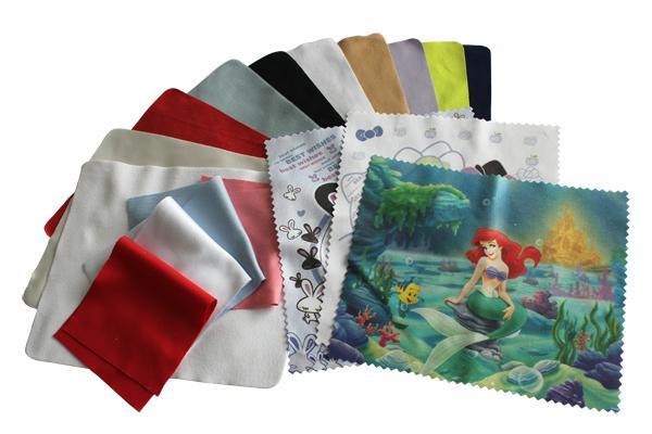 Custom Printed Microfiber Cleaning Cloth For Tv/lens/cd/glasses ...