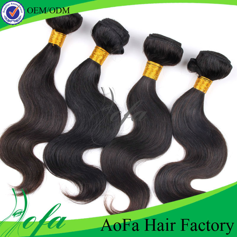 Can be dyed and curled indian loose wave cheap hair extensions
