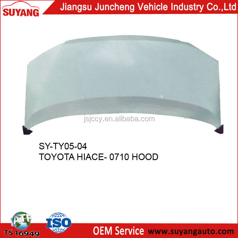 Toyota Hiace Bus Parts Bonnet For Replacement Body Parts