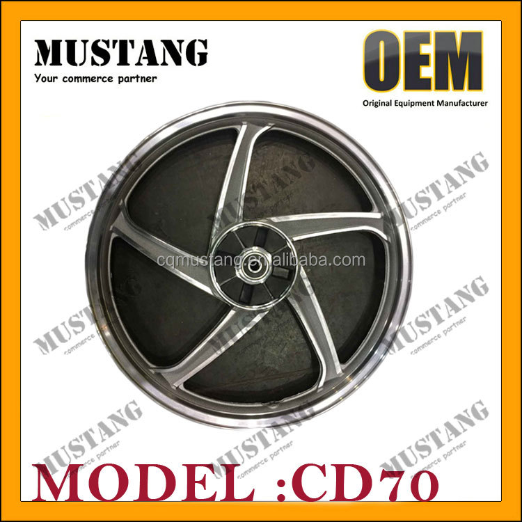 Aluminum/Magnesium Motorcycle Wheels with Front Wheel and Back Wheel